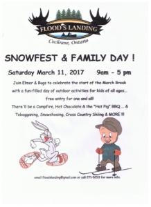 2017 snowfest poster