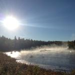 Pretty fall morning